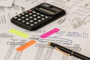 podatek, kalkulator, biuro rachunkowe nowy sacz